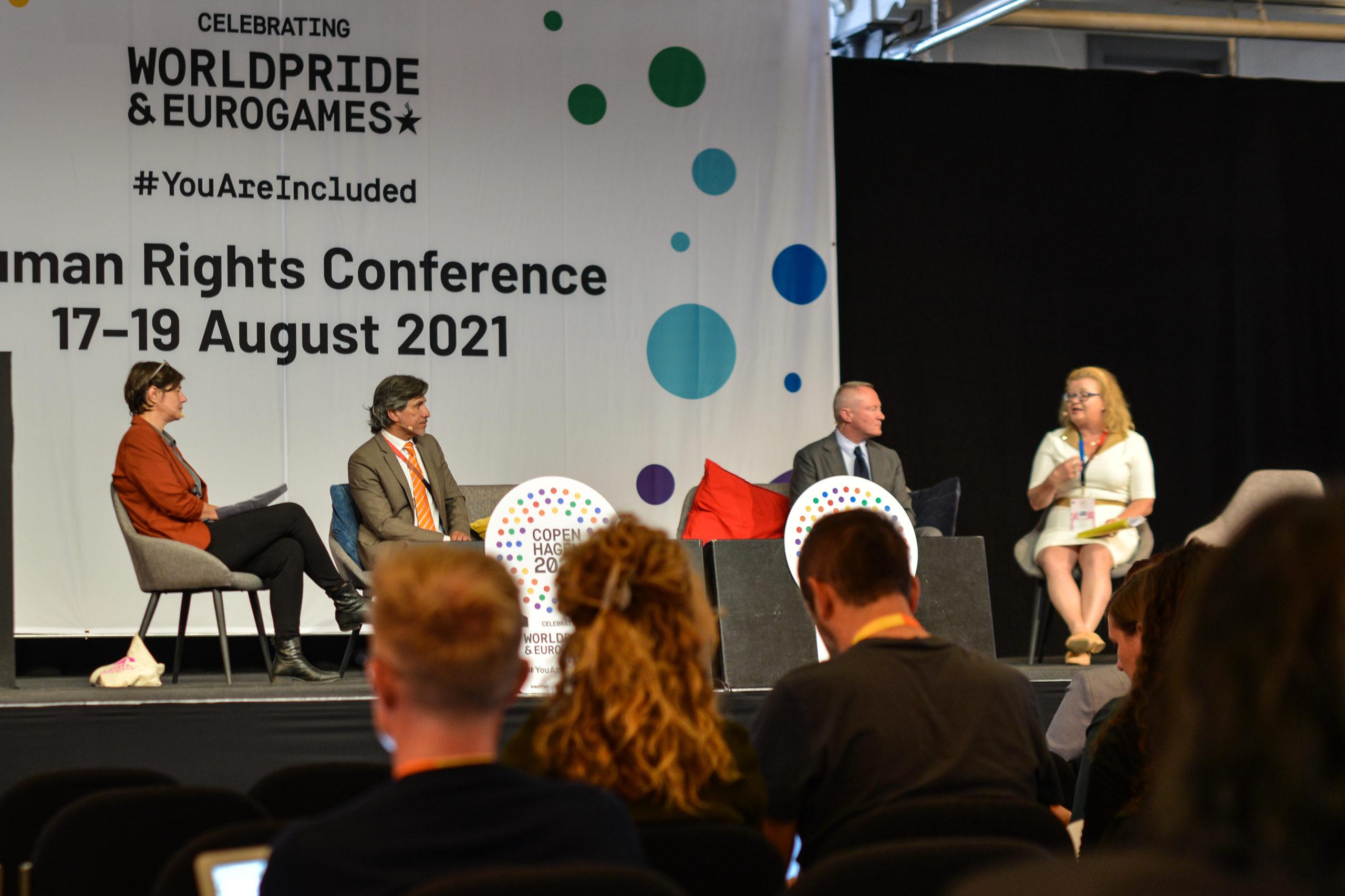 Paneldebat under Human Rights Conference 2021