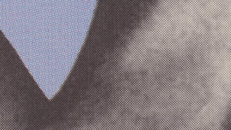 Abstrakt sort/hvid grafik