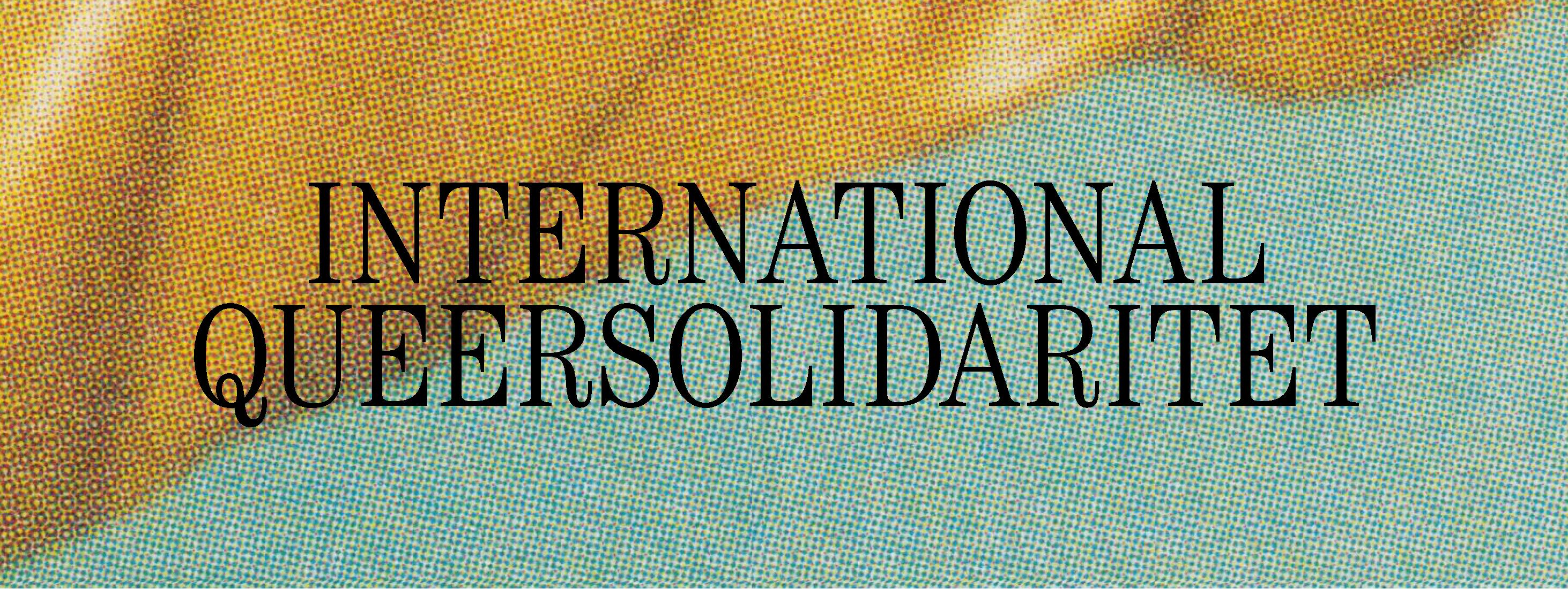 International Queersolidaritet